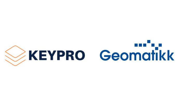 Keypro and Geomatikk logos final